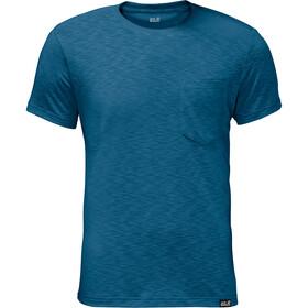 Jack Wolfskin Travel t-shirt Heren blauw